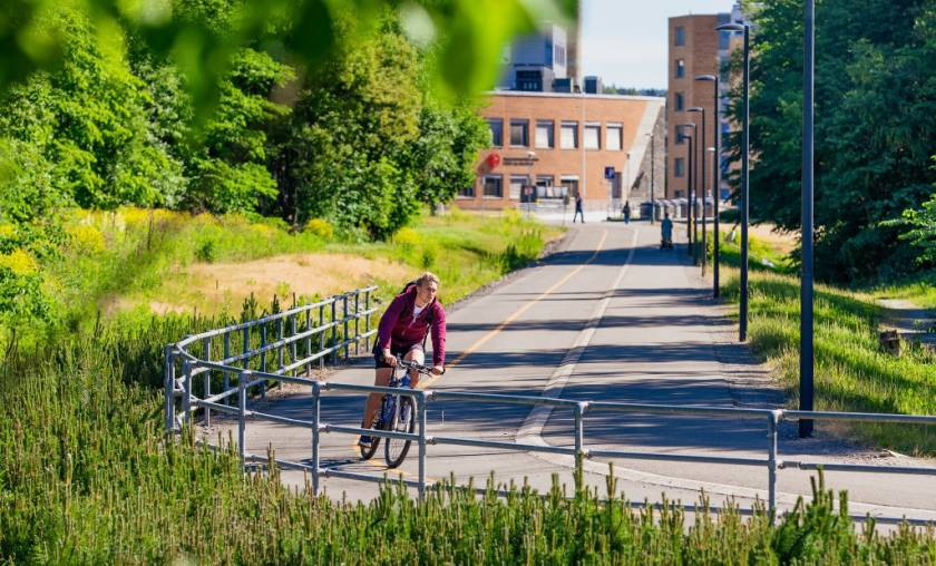 Sykkelfaddergruppe fra din studentby