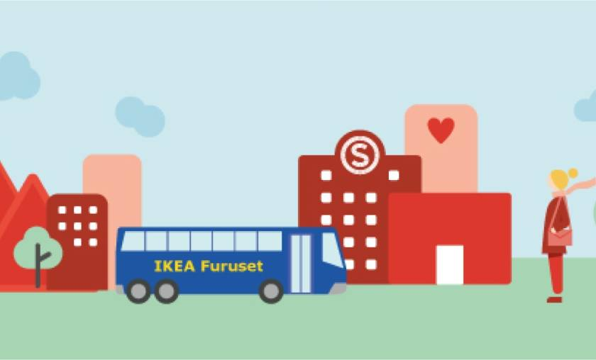Free IKEA-bus your student village!