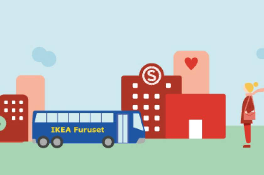 IKEA bus from your student village